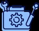 Illustration boite à outils